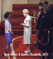 rose oliver and queen elizabeth